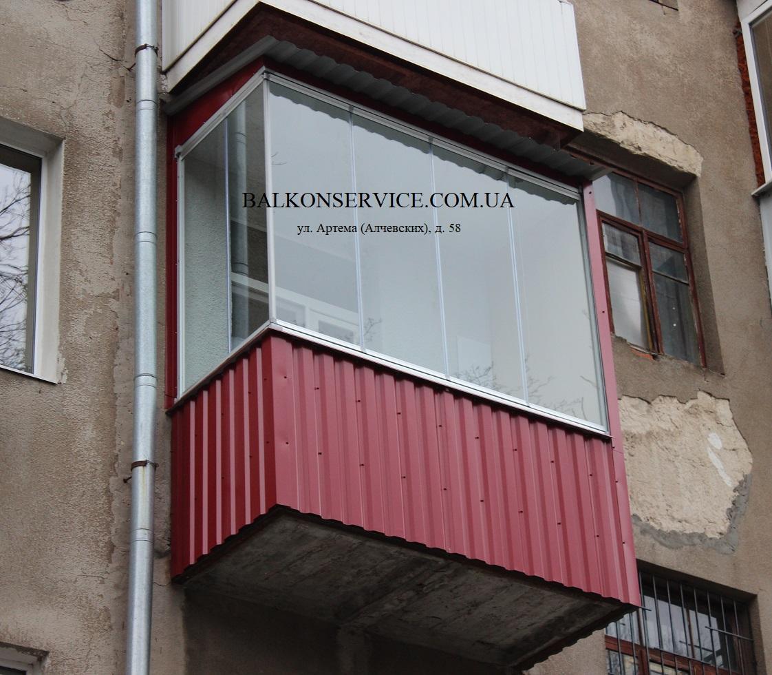 ремонт балкона в харькове фото