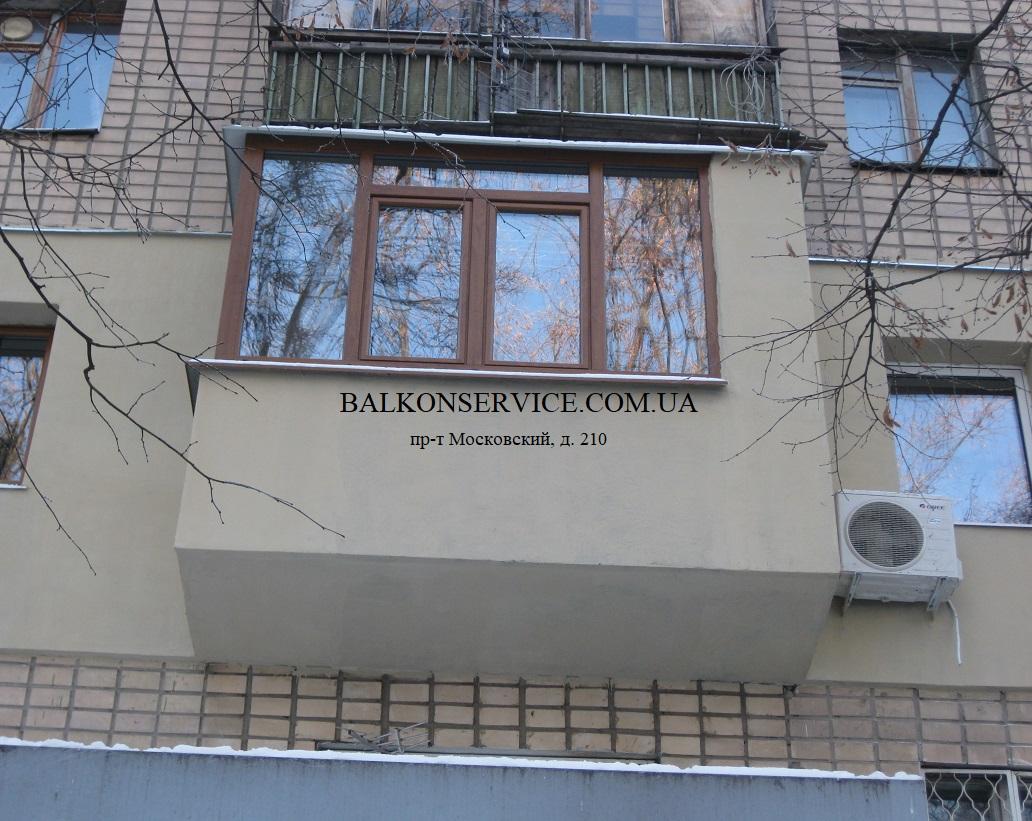 остекление и утепление балконов фото