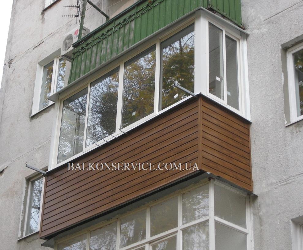 ремонт балкона в хрущевке в харькове